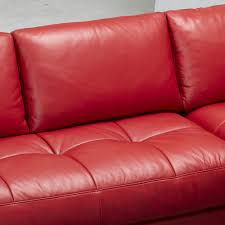 sofa modern red leather sectional sofa red sectional sofa with