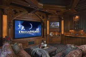classy home theater design completing personal entertainment