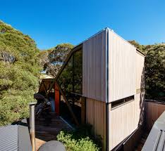 holiday cabin by maddison architects designed as an extension that