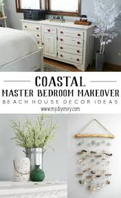 master bedroom makeover and beach house decor ideas