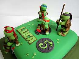 tmnt cake topper torta tortuga tortas decoradas turtles