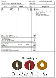 fiche cuisine les fiches techniques un outil important dans la gestion d un restaurant
