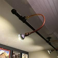copper pipe light fixture home dzine craft ideas galvanised pipe lighting