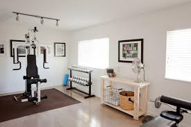 home gym idea applied real good home gym basement design ideas for