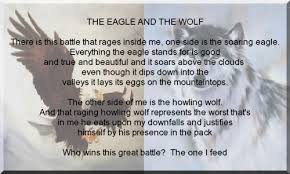 the eagle and the wolf poem search likeable quotes