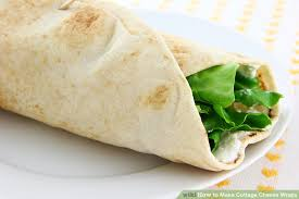 how to make cottage cheese wraps 4 steps with pictures