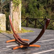 lazydaze hammocks 14 foot russian pine hardwood arc frame hammock