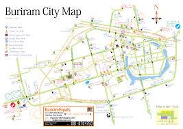 Mail Map Maps Buriram Expats