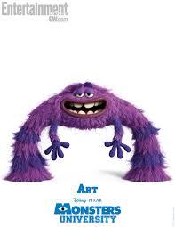 monsters university art poster