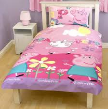 Peppa Pig Toddler Bed Set Peppa Pig Adorable Single Duvet Set Quilt Cover Bedding Floral