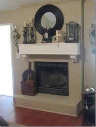 113 best painted brick fireplaces images on pinterest fireplace
