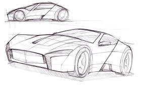 sports cars drawings car lineweights