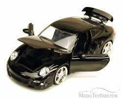 porsche 911 turbo black jada toys bigtime kustoms 91852 1 24