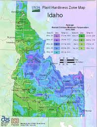 idaho zone map usda map of idaho hardiness planting zones