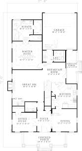 Floor Plans For Bungalow Houses Echo Glen Bungalow Home Plan 055d 0530 House Plans And More