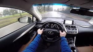 lexus nx300h vs rav4 hybrid lexus nx 300h pov test drive gopro youtube