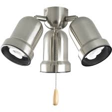 3 Light Ceiling Fan Light Kit by Decor Ceiling Fan Light Kits Polish With Stainless Steel Also