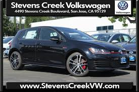 volkswagen gti blue 2017 new 2017 volkswagen golf gti sport hatchback in san jose v171086