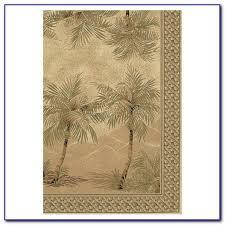 palm tree print area rug rugs home design ideas zn7dngerjo
