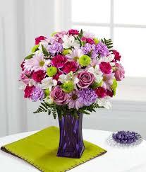 fds flowers ftd purple pop bouquet kremp