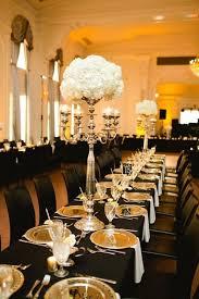 black and gold wedding ideas 54 black white and gold wedding ideas happywedd