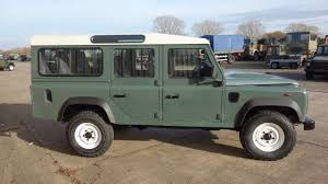 military land rover 110 land rover defender 110 station wagons rhd for sale mod direct
