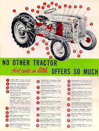 Vintage Ford Truck Advertisements - change history u002739 u002764 ford tractors