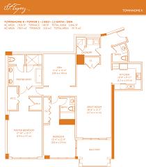townhome floor plans st tropez townhome floorplans