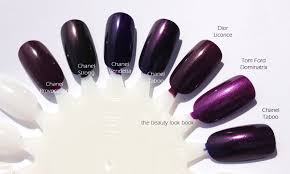 chanel taboo 583 le vernis the beauty look book