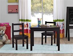 image of dorel 3 piece kids wood table and chair set canada regarding toddler