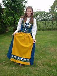 This Is The Swedish Version The Sweden Usa Project The Swedish National Dress