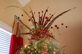 simple decoration tree tops toppers decor