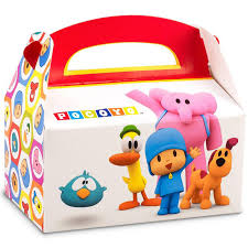 Favor Boxes by Pocoyo Empty Favor Boxes Birthdayexpress