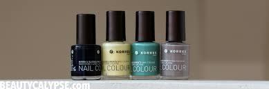 a closer look an 11 big free nail polish by korres range review