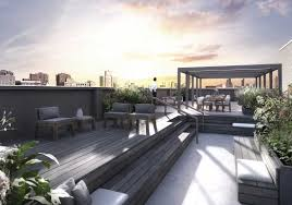 Roof Garden Design Ideas Modern Rooftop Garden Interiors Design Small Terrace Garden Design