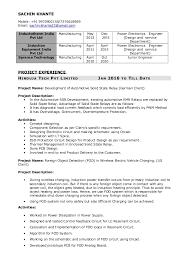 Pcb Design Engineer Resume Format Power Electronics Engineer Resume Sachin Khante