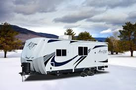 Arctic Fox Rv Floor Plans by Quick Tour Of The New Arctic Fox 24j Travel Trailer Youtube