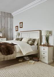 White And Wood Bedroom Furniture Create A Calm And Relaxing Bedroom Interior With Our Aurora