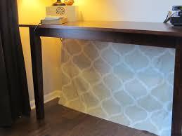 hide cords on desk rooms