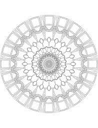 free vector graphic mandala coloring free image