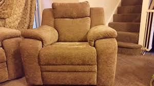 dfs toulon reclining sofa and power recliner chair in trafford