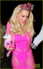 rita ora dolled barbie halloween photo