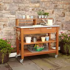 garden potting bench plans u2013 outdoor decorations