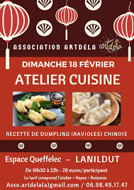 cuisine chinoise atelier cuisine chinoise récréatiloups finistère