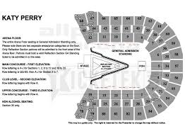 Rod Laver Floor Plan Katy Perry The Prismatic World Tour