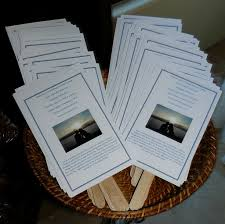 Making Wedding Programs Wedding Programs Made Into Fans My Tucson Wedding