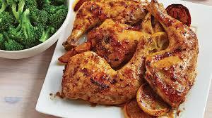 cuisiner des cuisse de poulet cuisses de poulet au citron et au gingembre avec brocoli