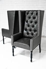 Blue Velvet Wingback Chair 34 Best Chairs Images On Pinterest With Regard To Leather Wingback