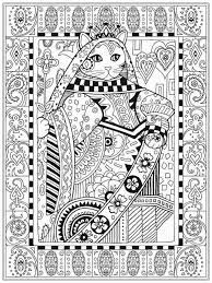 cat coloring pages for realistic coloring pages with cat