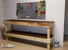 How To Build This Diy Workbench by Garage Workbench How To Build Workbench In Your Garage Own Diy